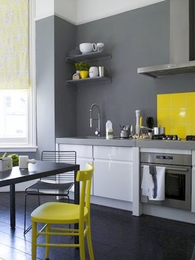 Best ideas about Yellow And Grey Kitchen Decor . Save or Pin Themes For Baby Room Theme Design Neon decor ideas for home Now.