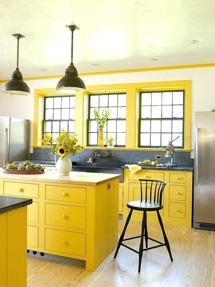 Best ideas about Yellow And Grey Kitchen Decor . Save or Pin Yellow And Gray Kitchen Yellow And Gray Kitchen Decor Now.
