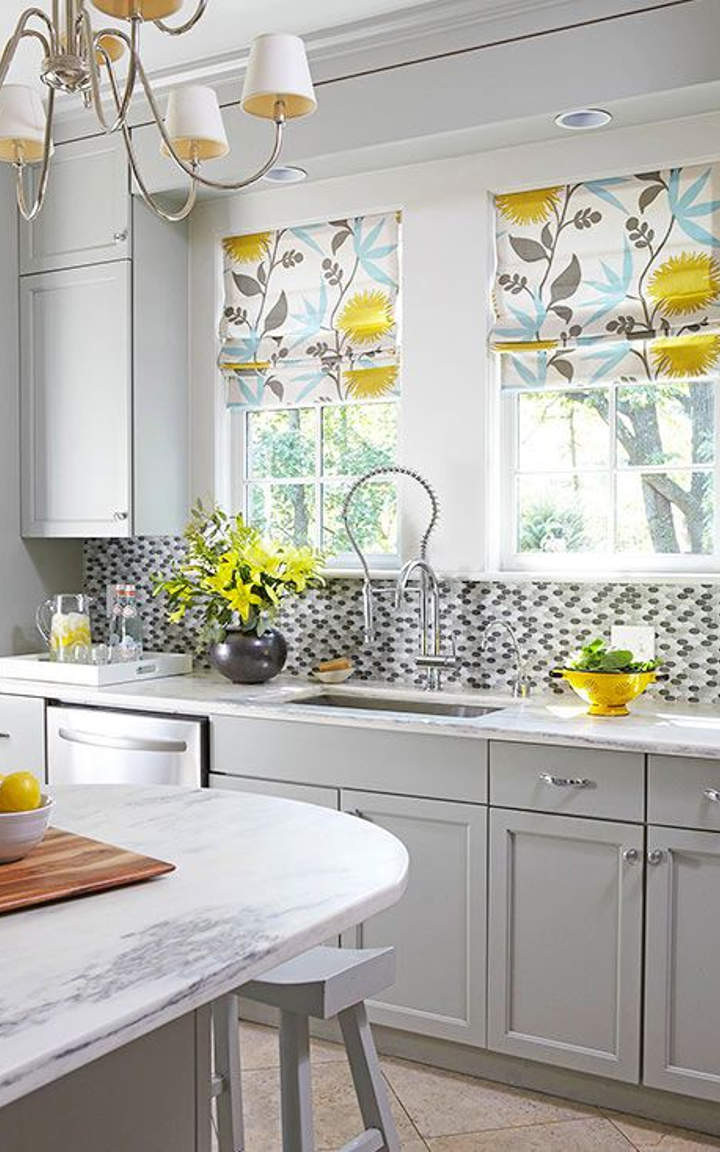Best ideas about Yellow And Grey Kitchen Decor . Save or Pin Yellow Kitchens Cottage Kitchens Yellow And Gray Grey And Now.