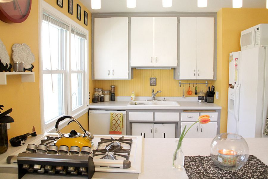 Best ideas about Yellow And Grey Kitchen Decor . Save or Pin 11 Trendy Ideas That Bring Gray and Yellow to the Kitchen Now.