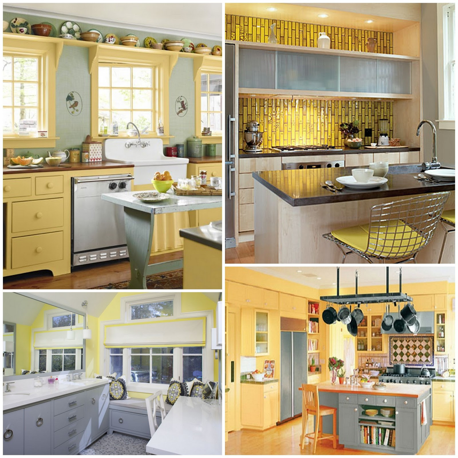 Best ideas about Yellow And Grey Kitchen Decor . Save or Pin Passion Pink & Pearls Becca s Yellow and Gray Kitchen Now.