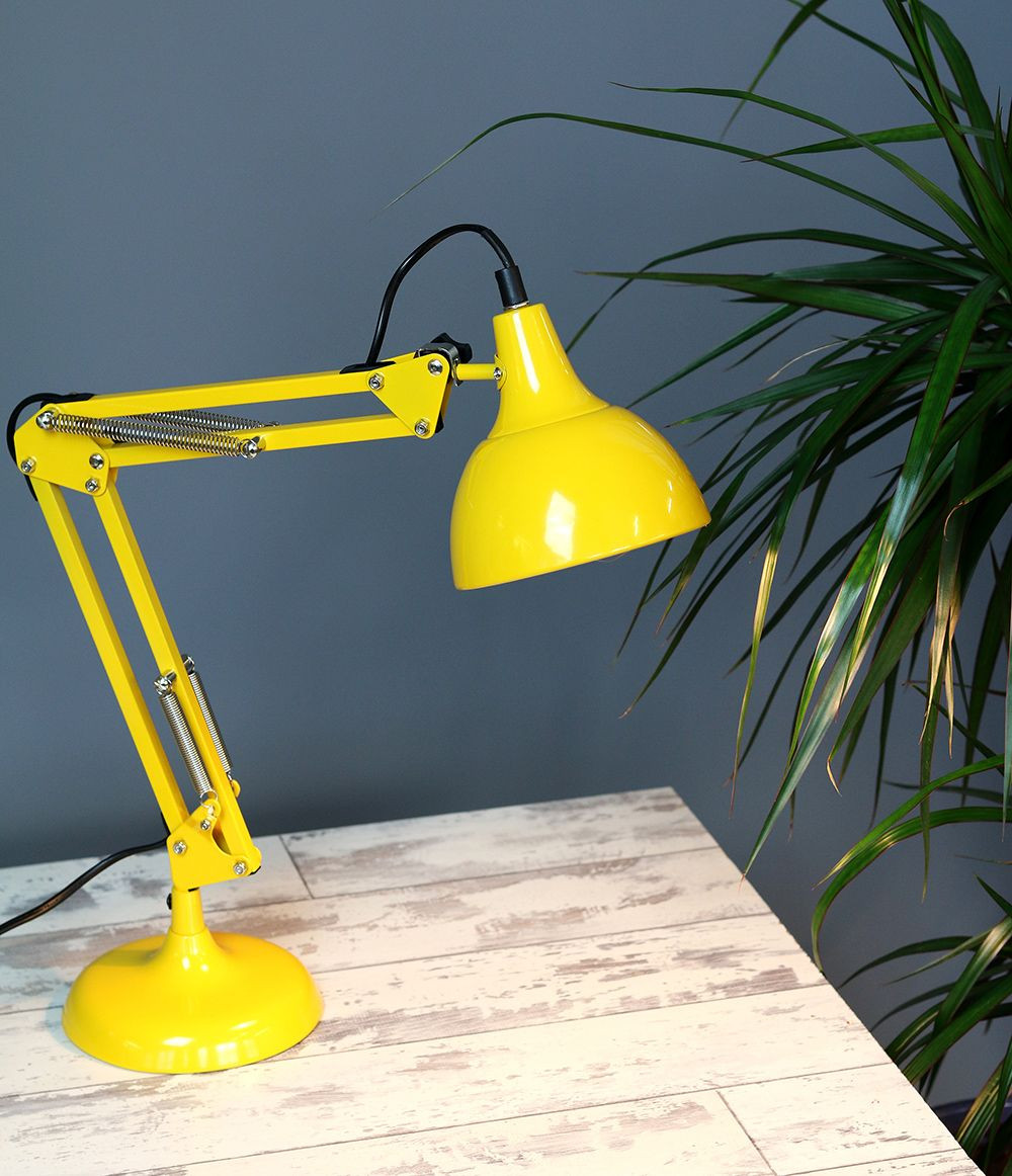 Best ideas about Yellow Desk Lamp . Save or Pin Yellow Angle Poise Desk Lamp Now.