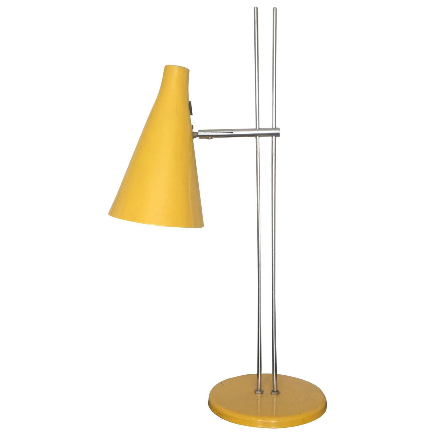 Best ideas about Yellow Desk Lamp . Save or Pin Yellow Adjustable Table Lamp For Sale at 1stdibs Now.