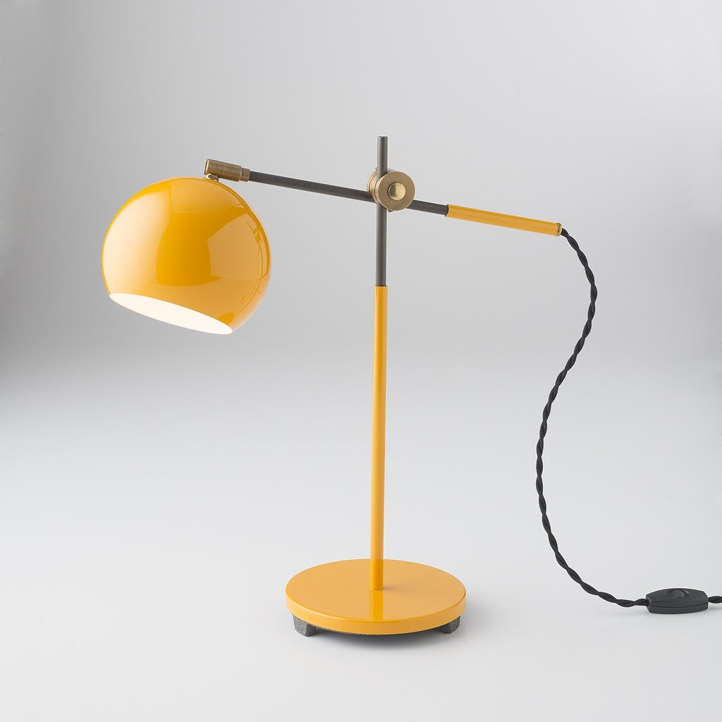 Best ideas about Yellow Desk Lamp . Save or Pin Studio Desk Lamp Industrial Yellow Now.