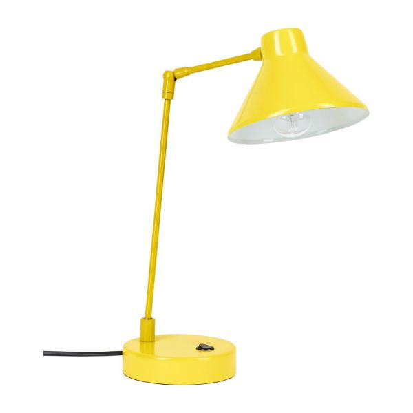 Best ideas about Yellow Desk Lamp . Save or Pin Bobby Desk lamp made of metal yellow Habitat Now.