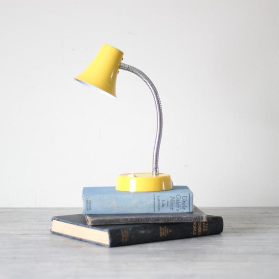 Best ideas about Yellow Desk Lamp . Save or Pin yellow gooseneck desk lamp by HRUSKAA on Etsy Now.