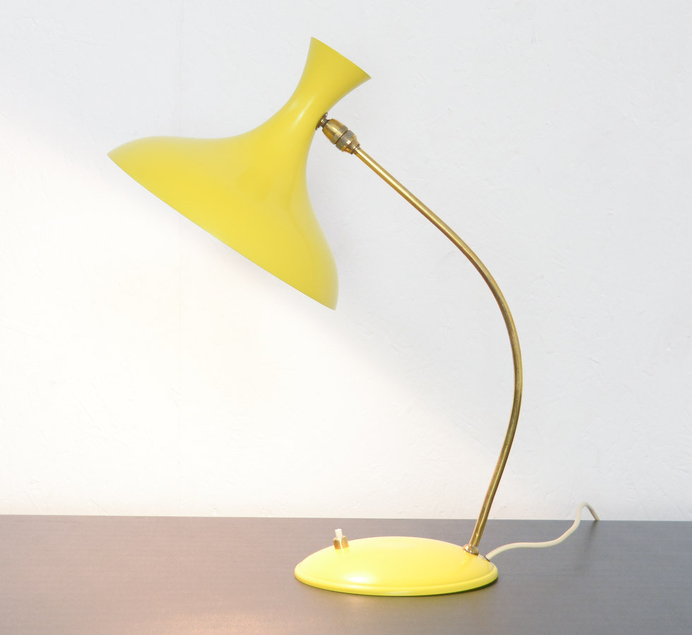 Best ideas about Yellow Desk Lamp . Save or Pin Organic Yellow Desk Lamp The S Vintage Design Point Now.