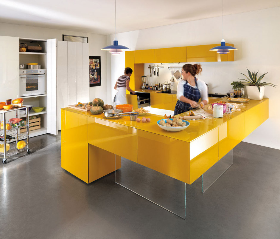 Best ideas about Yellow Kitchen Decor . Save or Pin Yellow Room Interior Inspiration 55 Rooms For Your Now.