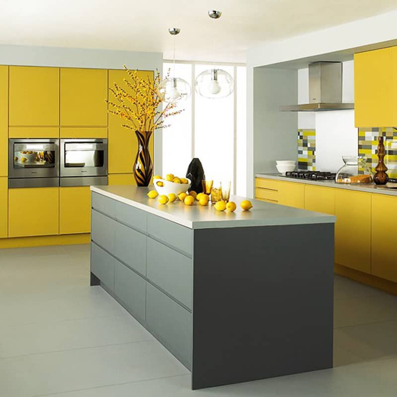 Best ideas about Yellow Kitchen Decor . Save or Pin 25 Modern Yellow Kitchen Designs Now.