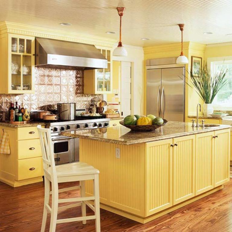 Best ideas about Yellow Kitchen Decor . Save or Pin 15 Bright and Cozy Yellow Kitchen Designs Rilane Now.