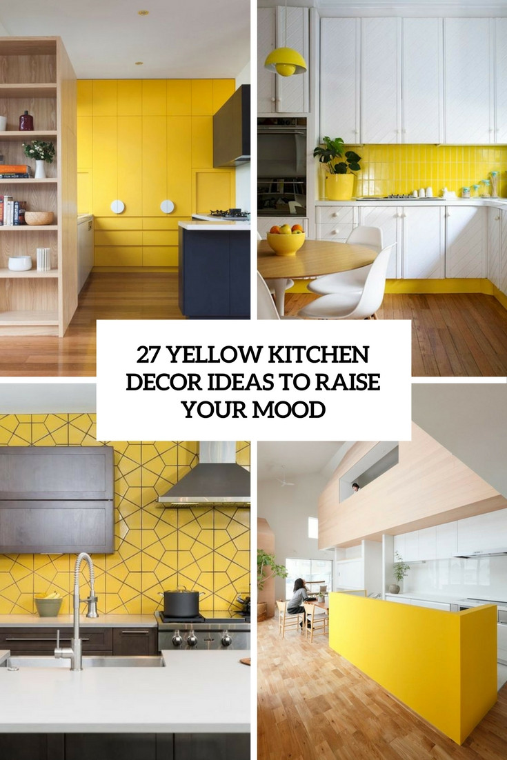 Best ideas about Yellow Kitchen Decor . Save or Pin DigsDigs Interior Decorating and Home Design Ideas Now.