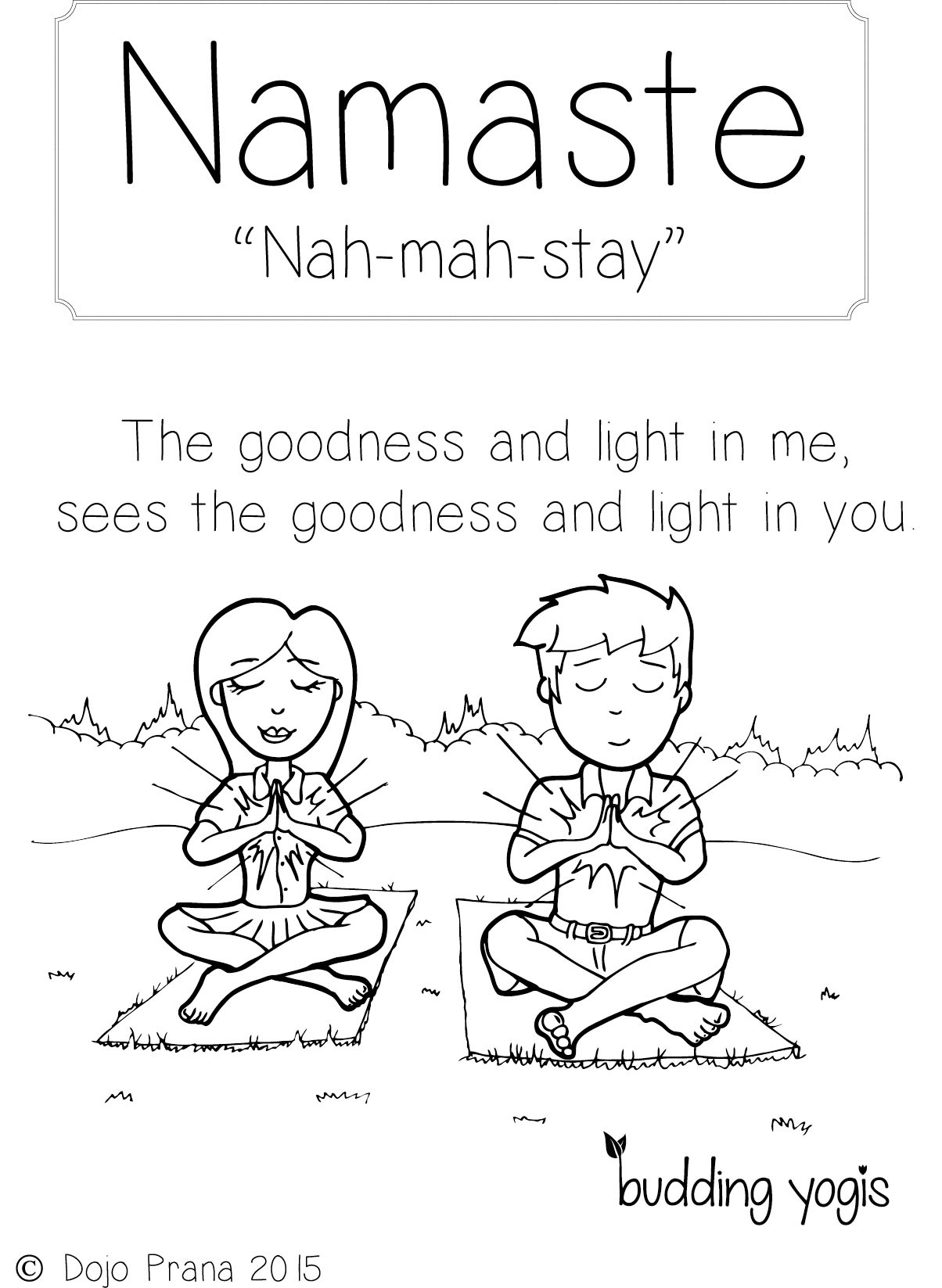 Yoga Coloring Pages  Yoga Coloring Pages to Print Free Coloring Books