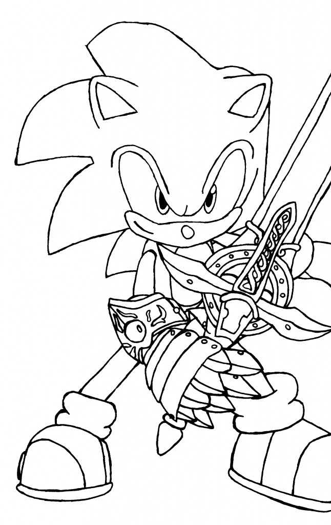 You Jtube Free Coloring Books For Toddlers  Free Printable Sonic The Hedgehog Coloring Pages For Kids