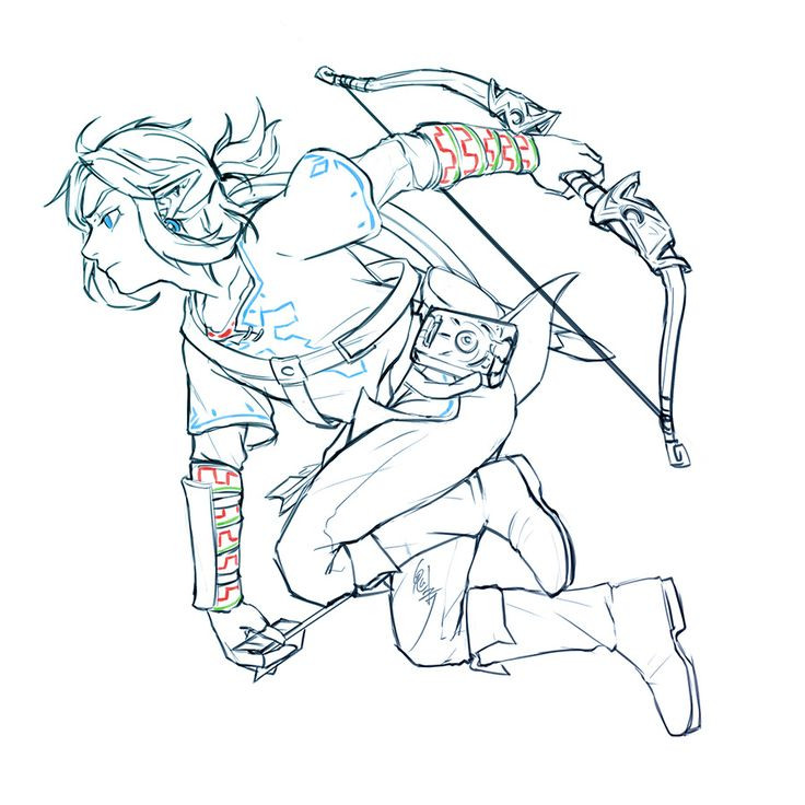 Zelda Breath Of The Wild Coloring Pages  17 Best images about The Legend of Zelda Breath of the