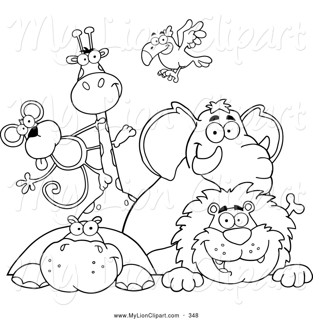Zoo Animals Coloring Pages  36 Best Zoo Animal Coloring Pages Gianfreda