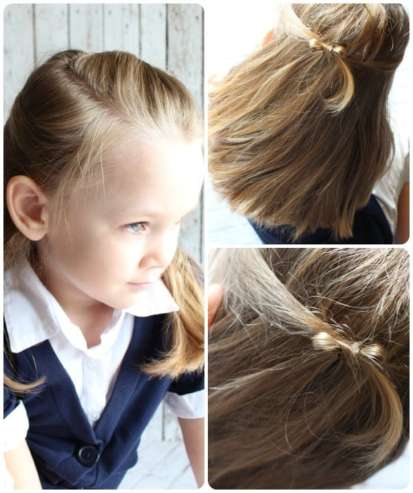 Best ideas about 10 Easy Hairstyles . Save or Pin Easy Hairstyles For Little Girls 10 ideas in 5 Minutes Now.