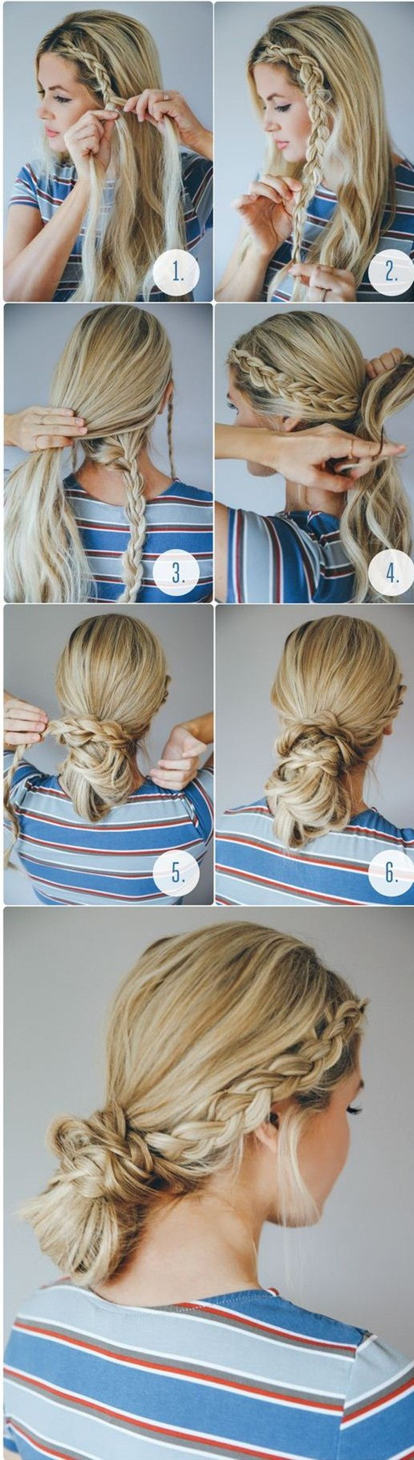 Best ideas about 10 Easy Hairstyles . Save or Pin 40 Easy Hairstyles for Schools to Try in 2016 Now.