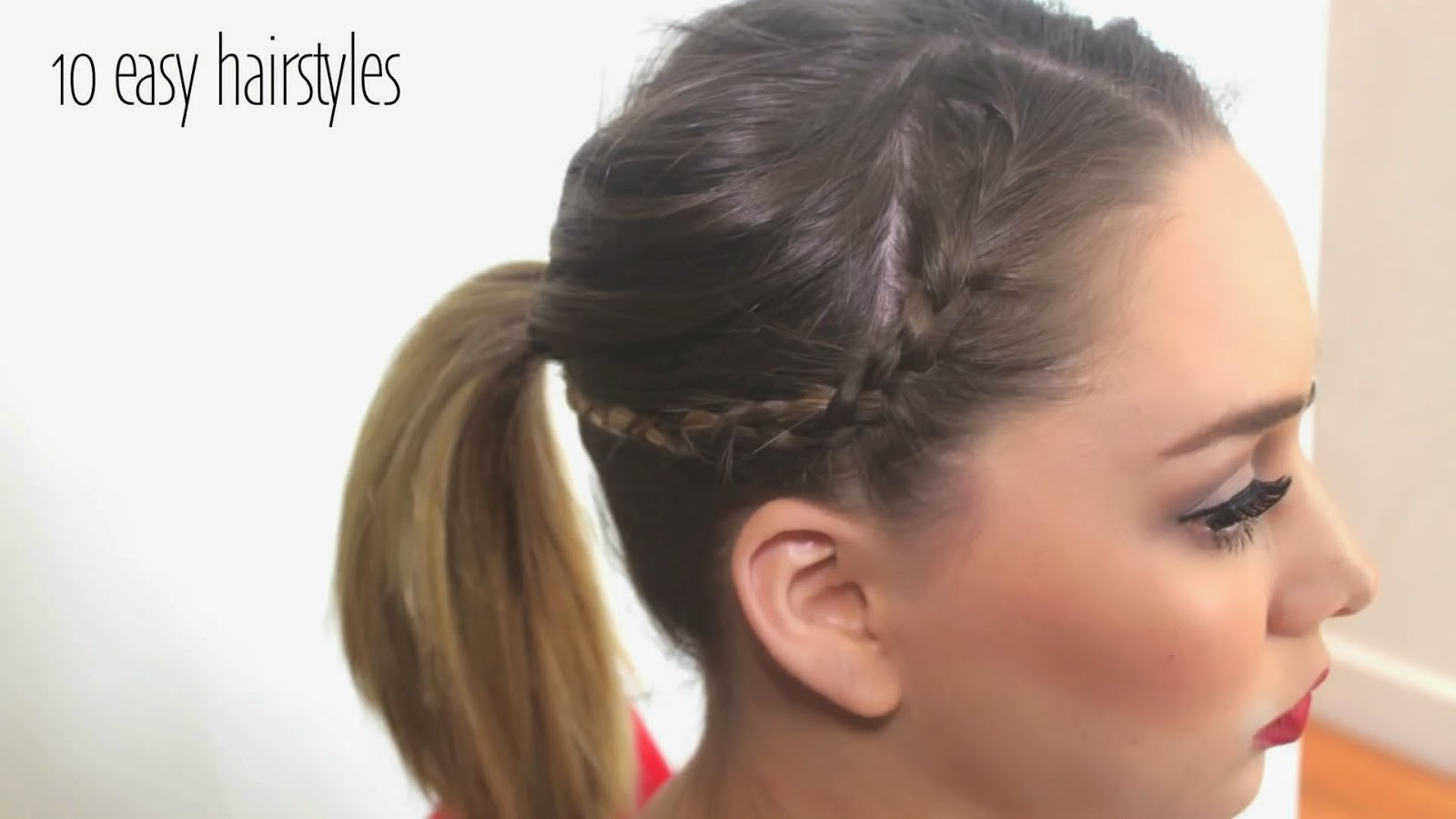 Best ideas about 10 Easy Hairstyles . Save or Pin StyleVia Top 10 Easy Hairstyles Can Set in 5 Minutes Now.