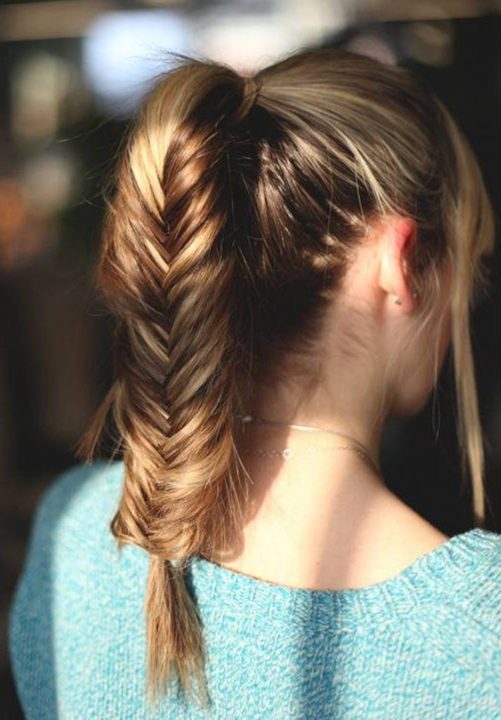 Best ideas about 10 Easy Hairstyles . Save or Pin 10 Easy Ponytail Hairstyles For Medium Length Hair Now.