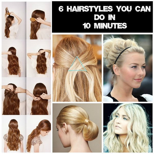 Best ideas about 10 Easy Hairstyles . Save or Pin 6 Easy hairstyles for mums on the go Now.