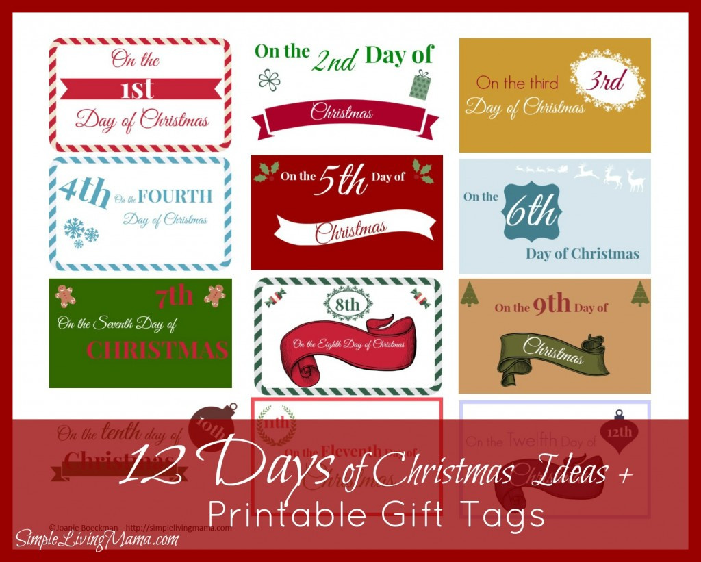 Best ideas about 12 Days Of Christmas Gift Ideas For Boyfriend . Save or Pin Christmas Label Ideas – Happy Holidays Now.