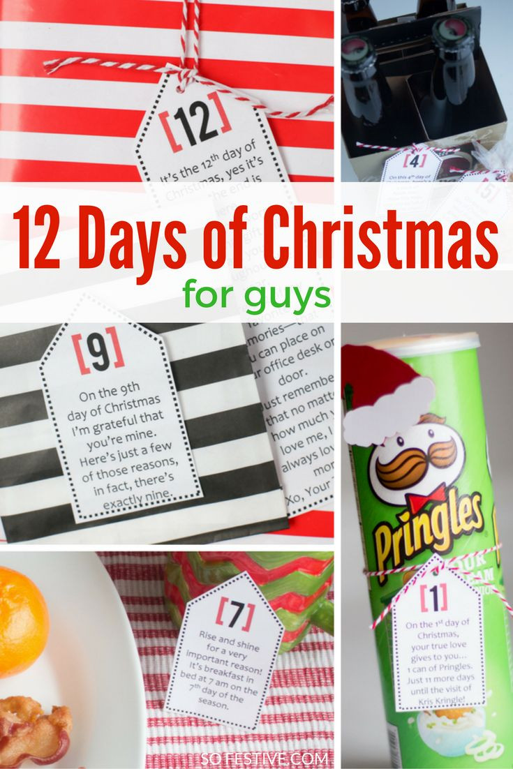Best ideas about 12 Days Of Christmas Gift Ideas For Boyfriend . Save or Pin 935 best Boyfriend Gift Ideas images on Pinterest Now.