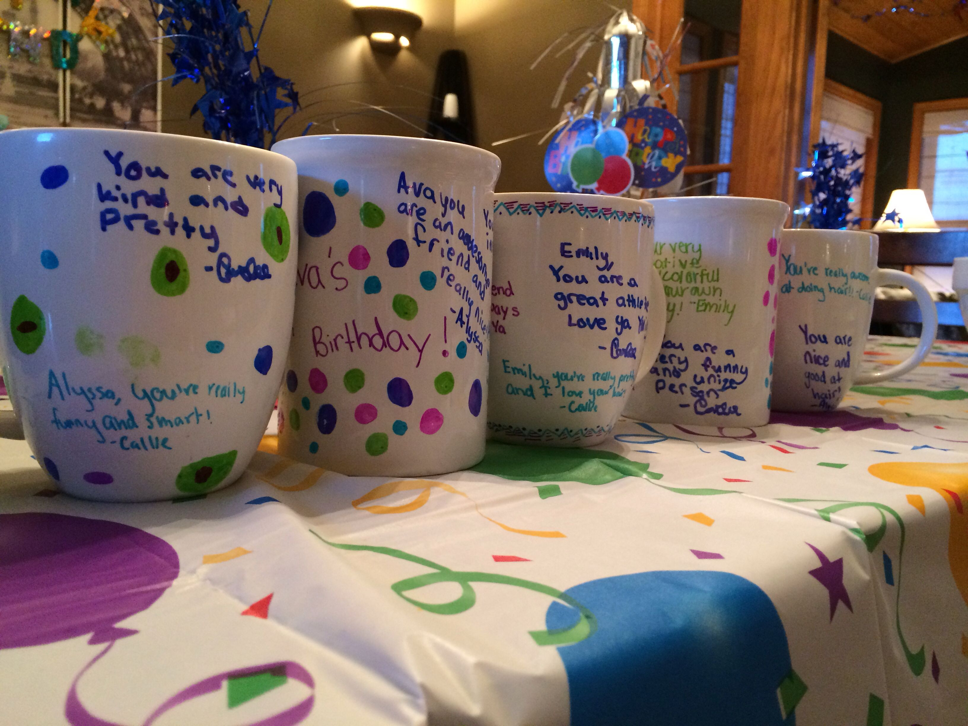 Best ideas about 12 Year Olds Birthday Ideas . Save or Pin Sharpie Mugs Now.