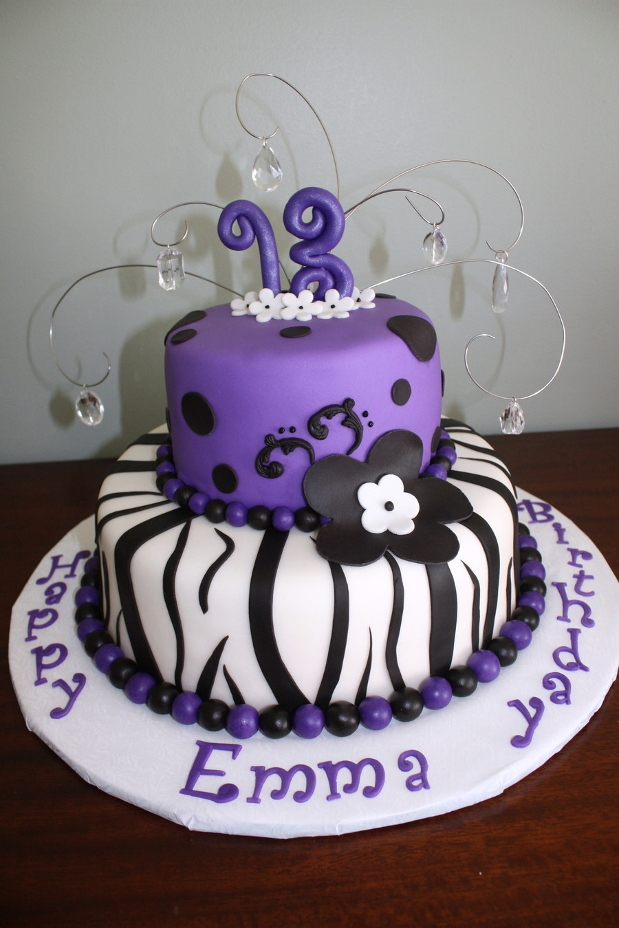 Best ideas about 13 Year Old Girl Birthday Cake . Save or Pin 13Th Birthday CakeCentral Now.