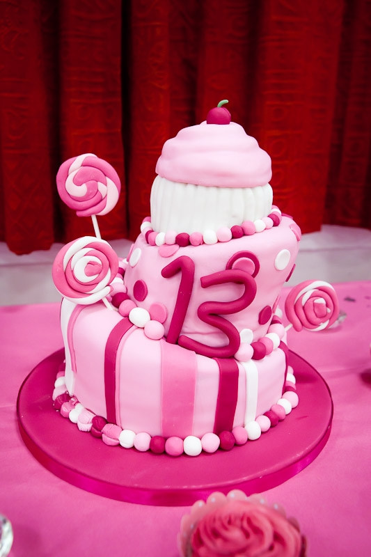 Best ideas about 13 Year Old Girl Birthday Cake . Save or Pin 13Th Birthday Cakes Now.