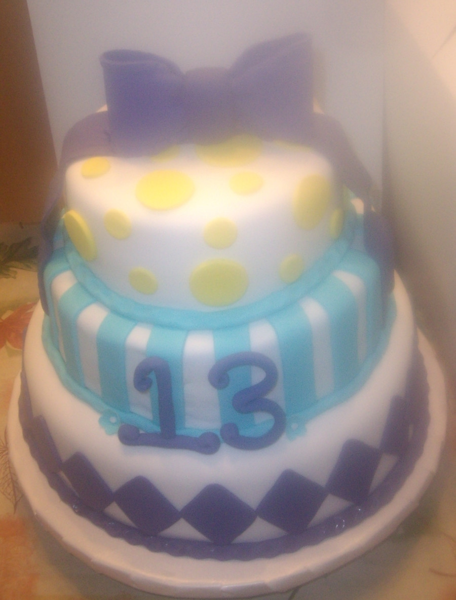 Best ideas about 13 Year Old Girl Birthday Cake . Save or Pin Birthday Cake For 13 Year Old Girl CakeCentral Now.