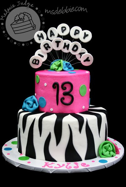 Best ideas about 13 Year Old Girl Birthday Cake . Save or Pin This Cake Is A Perfect Example A Typical 13 Year Old's Now.