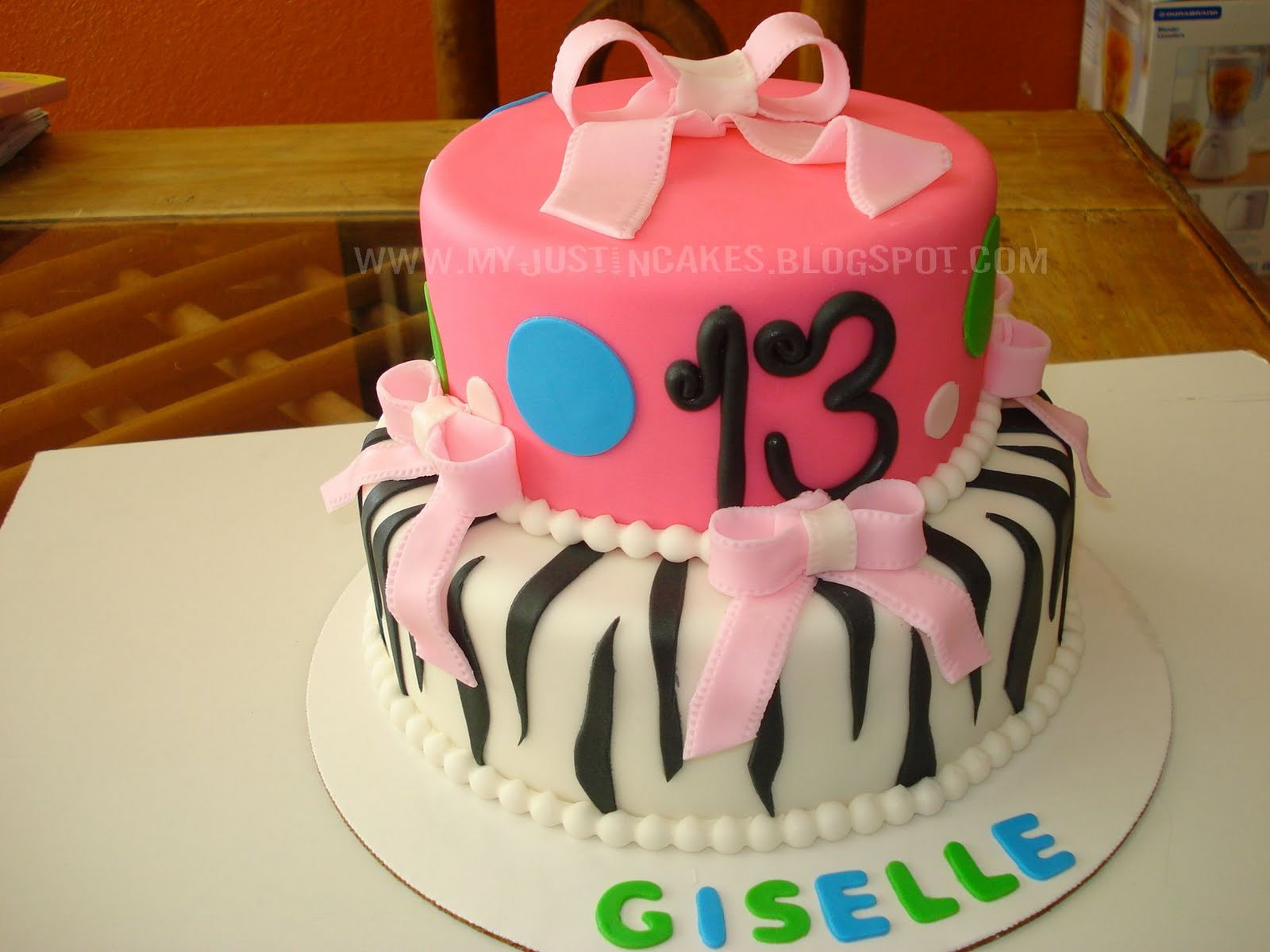 Best ideas about 13 Year Old Girl Birthday Cake . Save or Pin Just in Cakes 13 Year Old Girl Birthday Cake Now.