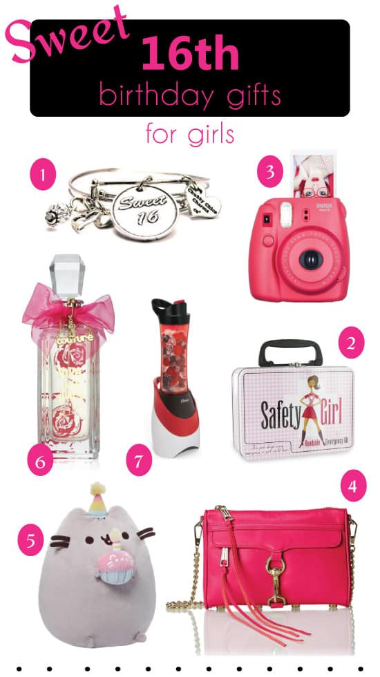 Best ideas about 16 Birthday Gift Ideas Girls . Save or Pin Birthday Gift Ideas for Teen Girls x Sweet 16 B Day Gifts Now.
