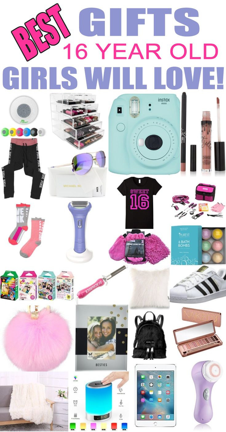 Best ideas about 16 Birthday Gift Ideas Girls . Save or Pin Best Gifts 16 Year Old Girls Will Love Now.