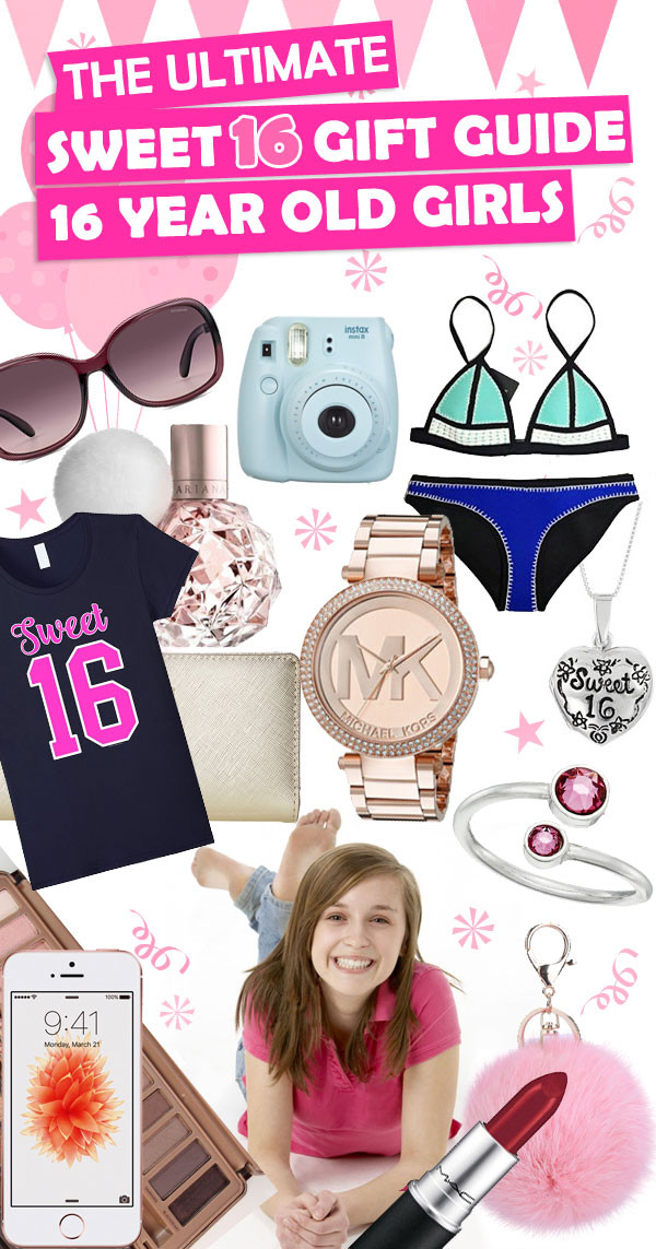 Best ideas about 16 Birthday Gift Ideas Girls . Save or Pin Sweet 16 Gift Ideas For 16 Year Old Girls • Toy Buzz Now.