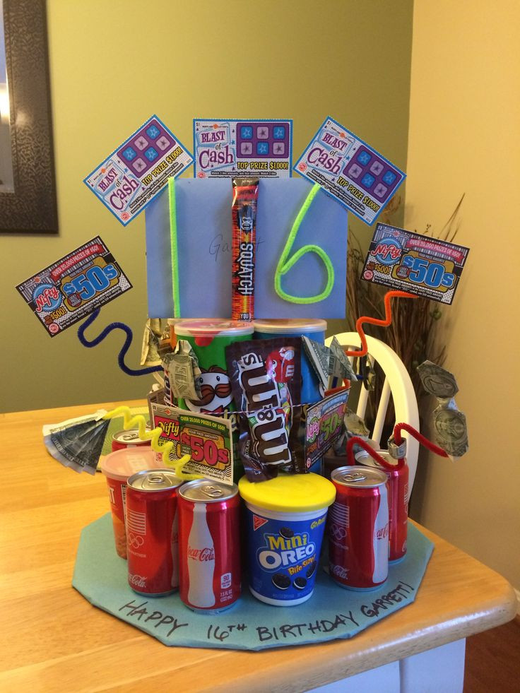 Best ideas about 16 Year Old Boys Birthday Gifts . Save or Pin Decoration and Themes for 16th Birthday Party Ideas Now.