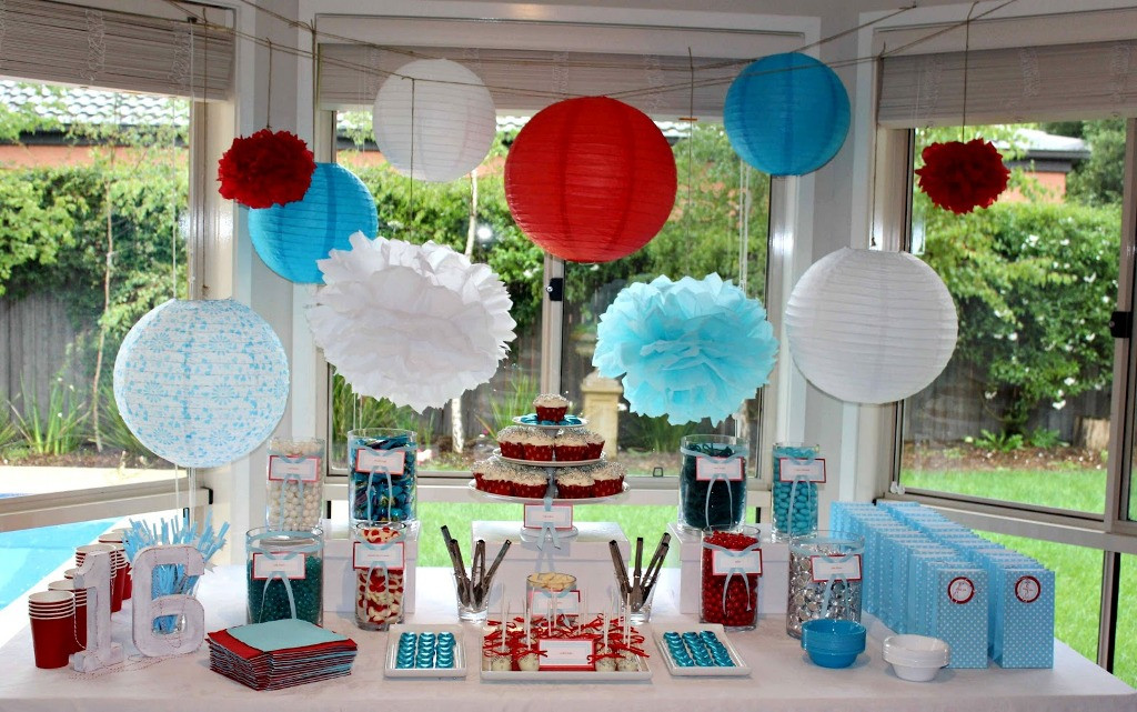 Best ideas about 16th Birthday Party Ideas Girl . Save or Pin 16th Birthday Party Ideas Now.