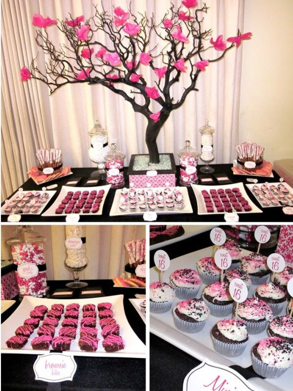 Best ideas about 16th Birthday Party Ideas Girl . Save or Pin sweet 16 party Charlottes Baby Shower Now.