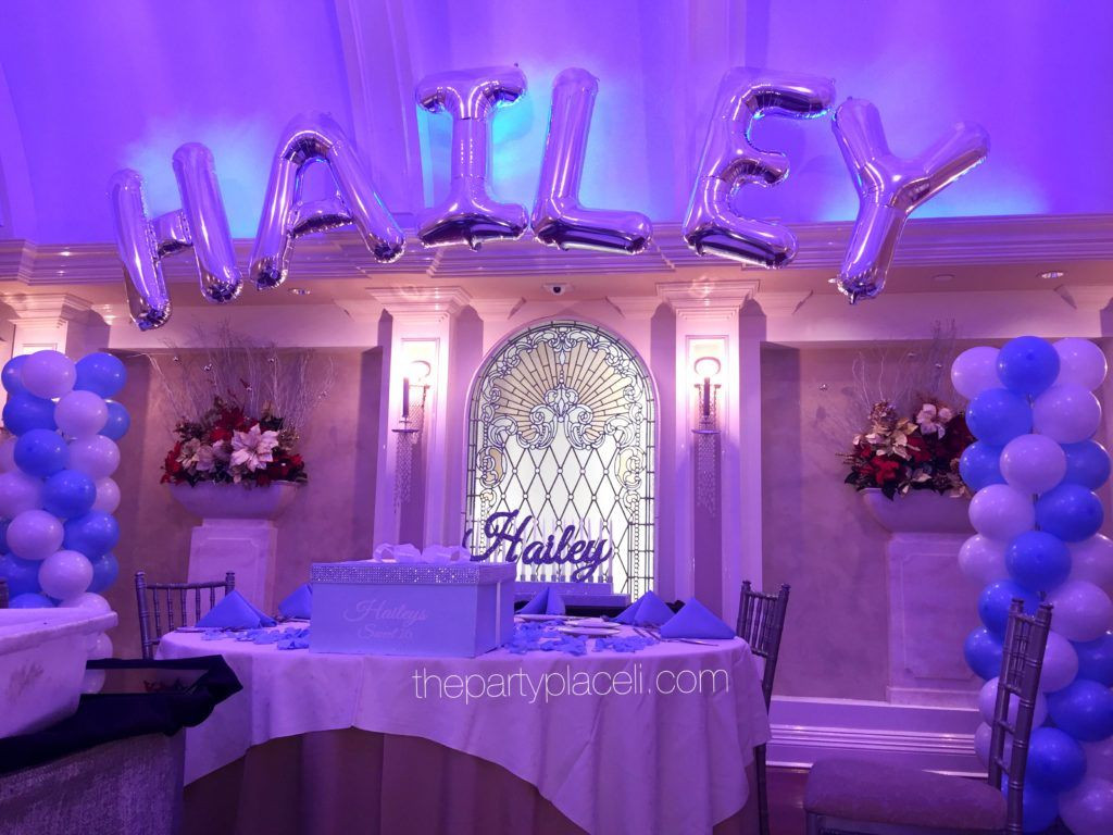 Best ideas about 16th Birthday Party Ideas Girl . Save or Pin Tiffany themed sweet 16 ThePartyPlaceLI Now.