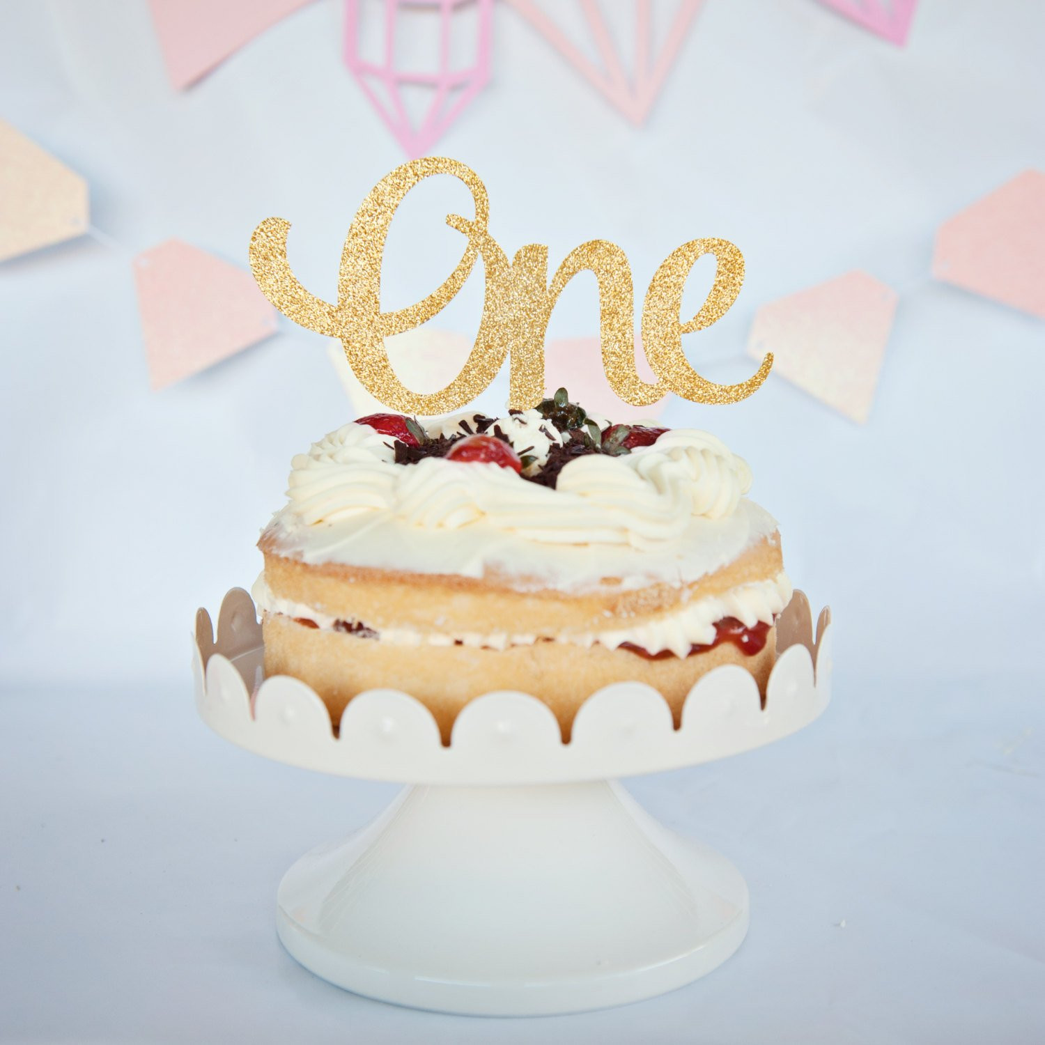 Best ideas about 1st Birthday Cake Topper . Save or Pin e cake topper first birthday cake topper 1st birthday cake Now.