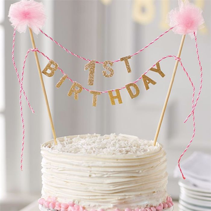 Best ideas about 1st Birthday Cake Topper . Save or Pin The Ultimate List of 1st Birthday Cake Ideas Baking Smarter Now.