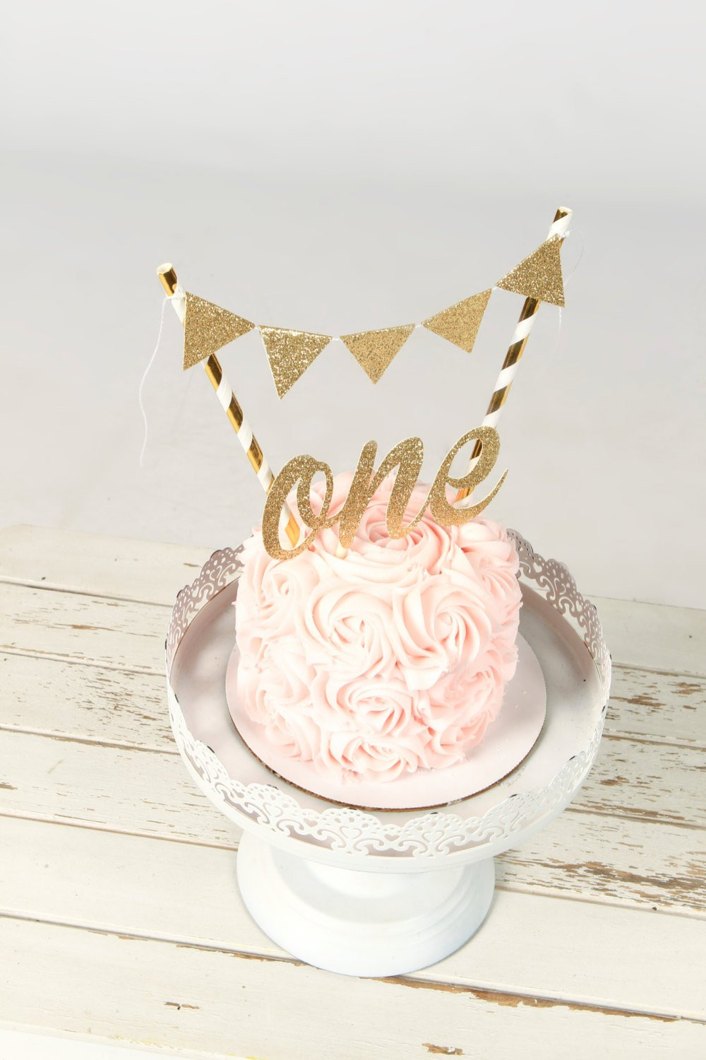 Best ideas about 1st Birthday Cake Topper . Save or Pin e Cake Topper First birthday cake topper ONE Smash Cake Now.