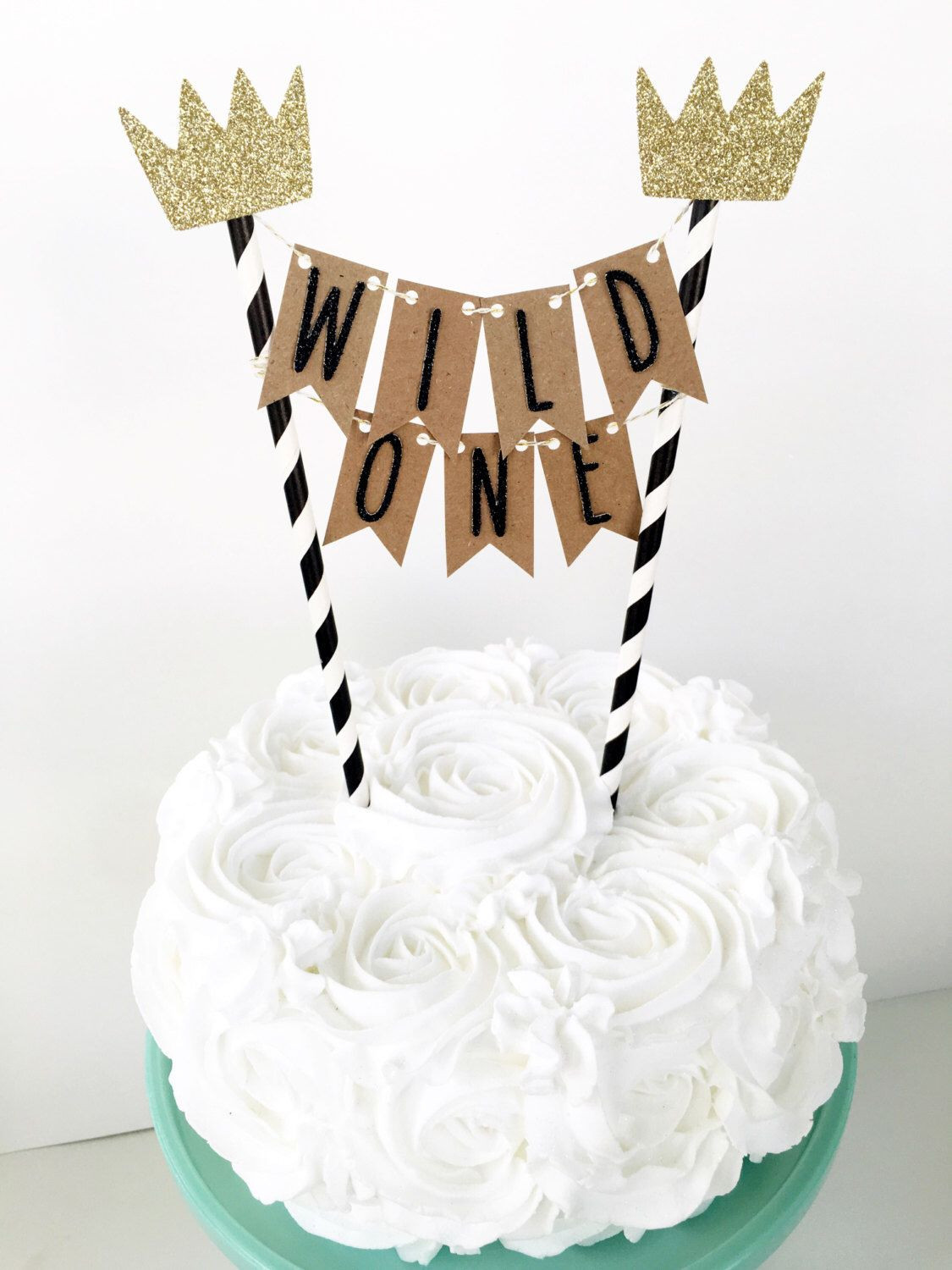 Best ideas about 1st Birthday Cake Topper . Save or Pin Where The Wild Things Are Cake Topper Wild e Cake Now.