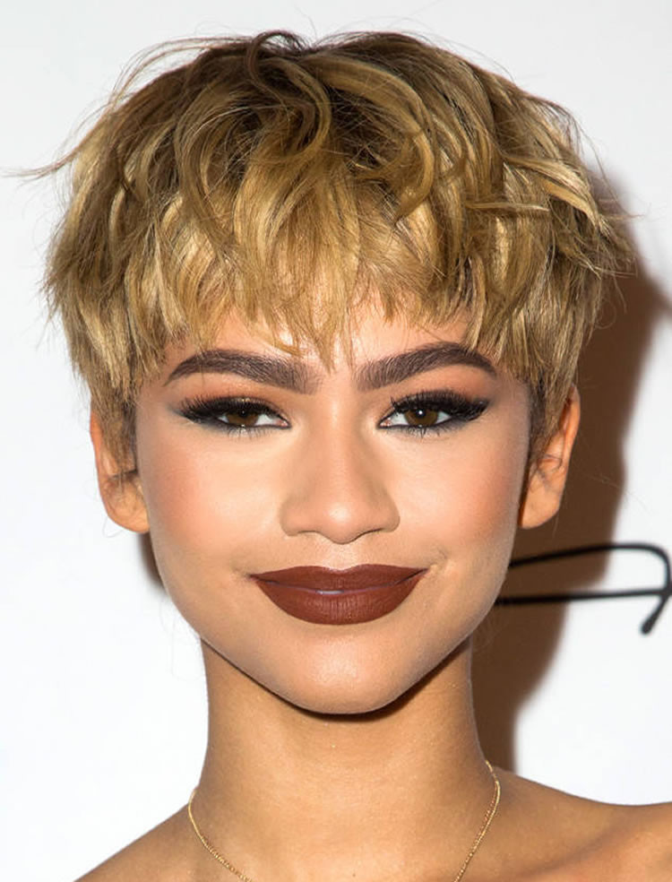 Best ideas about 2019 Female Haircuts . Save or Pin Trendy Short Pixie Haircuts for Women 2018 2019 – Page 3 Now.