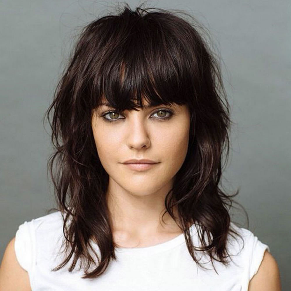 Best ideas about 2019 Medium Haircuts . Save or Pin Short Shag Haircuts and Medium Shag Hairstyles You'll Want Now.