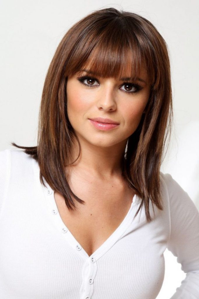 Best ideas about 2019 Medium Haircuts . Save or Pin 15 Cute Medium Hairstyles with Bangs 2018 – 2019 Now.
