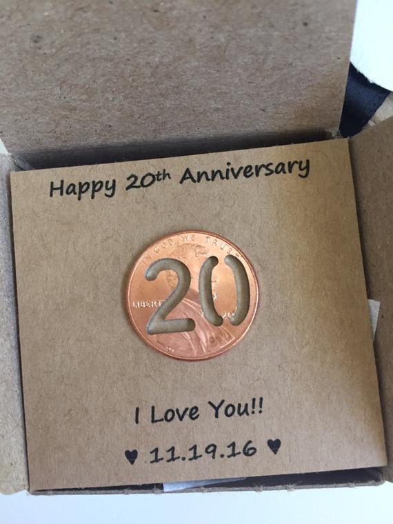 Best ideas about 20Th Wedding Anniversary Gift Ideas For Her . Save or Pin 20th Anniversary Happy Anniversary Anniversary Gift Twenty Now.