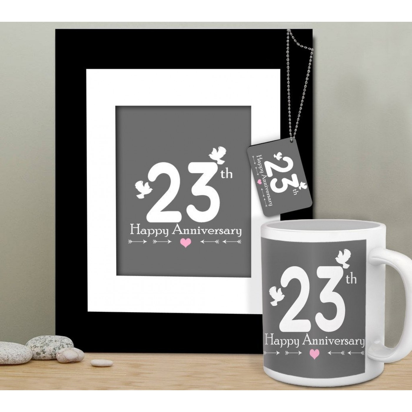 Best ideas about 23Rd Wedding Anniversary Gift Ideas Husband . Save or Pin 23rd Anniversary Gift for Husband Anniversary Gift for Now.