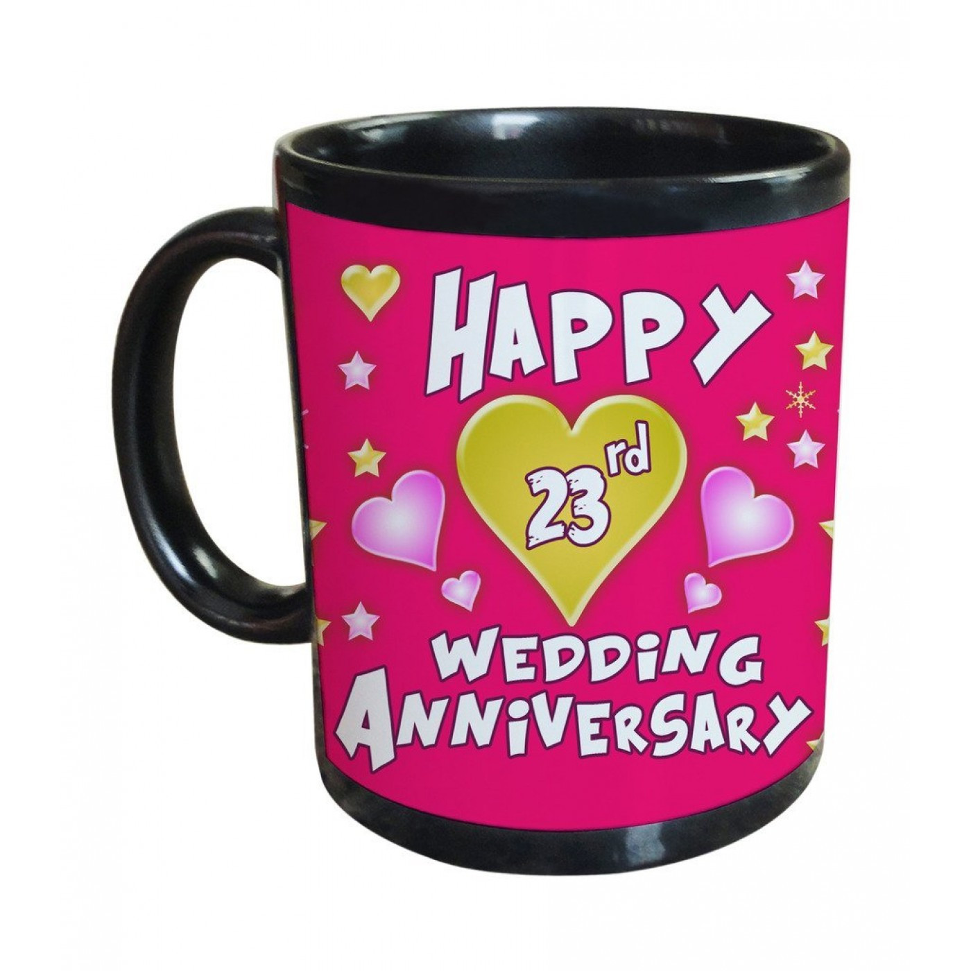 Best ideas about 23Rd Wedding Anniversary Gift Ideas Husband . Save or Pin 23rd Wedding Anniversary Gift Printed Coffee Mug Now.