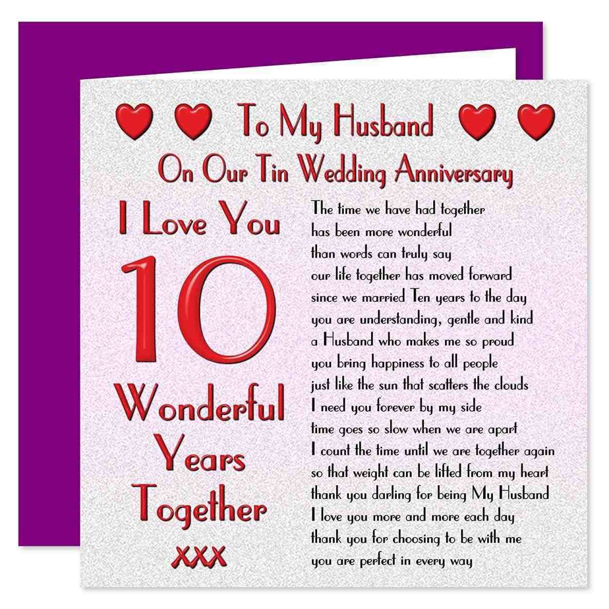 Best ideas about 23Rd Wedding Anniversary Gift Ideas Husband . Save or Pin More About 10 year wedding anniversary quotes Update Now.
